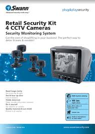 rca blu ray home theater manual retail security kit 4 cctv cameras sw244 sk4 manuals page 2