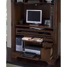 Flat Computer Desk Riverside Cantata Computer Armoire Hayneedle