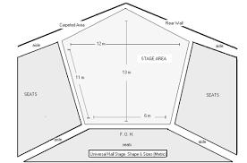sony centre floor plan facilities universal hall promotions