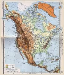 Eastern Europe Physical Map by Maps Of North America And North American Countries Political