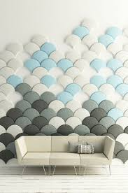 these scale shaped tiles will soundproof your room with style