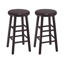 bar stools extra tall wood swivel bar stool with back and arms