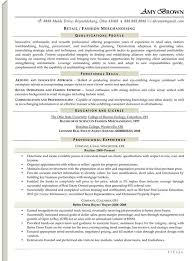 Resume Skills Examples Retail by Sample Retail Resume Template Retail Manager Resume Examples