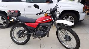 175 yamaha enduro motorcycles for sale