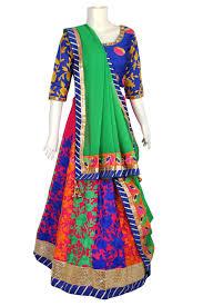 Pink Colour Combination Dresses by Traditional Beautiful Colour Combination Navratri Chaniya Choli