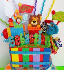 train cake topper or birthday centerpiece choo choooo train