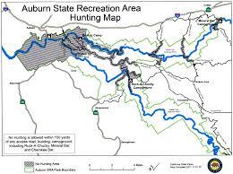 Sac State Map Hunting In Auburn Sra