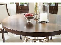 lexington tower place contemporary regis round dining table with