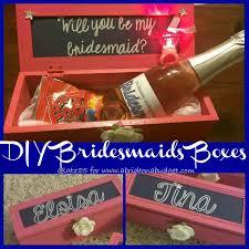 bridesmaids boxes diy bridesmaids boxes a on a budget
