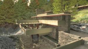 frank lloyd wright waterfall fallingwater on vimeo