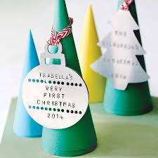 personalised family christmas decoration by edamay