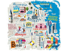 Buenos Aires Map The Insider U0027s Guide To Buenos Aires Where To Eat Party And Shop