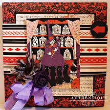 Halloween Card Invitation Scrapbook Flair Pam Bray Designs