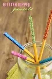 thanksgiving pencils glitter dipped pencils