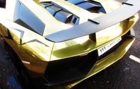 gold chrome lamborghini aventador chrome gold lamborghini aventador sv roadster spotted in