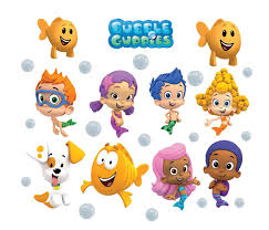 wall decal cute bubble guppies wall decals bubble decals for