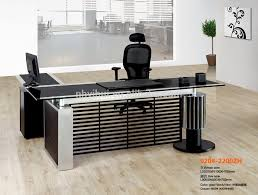 modern office table with glass top buy office table glass top