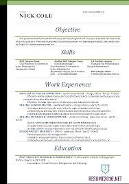 standard resume template word resume templates 2016 standard resume format 2016