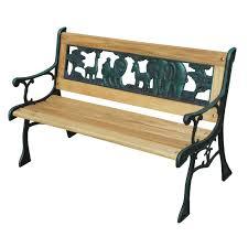 kids zoo park bench