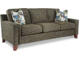 la z boy hazel contemporary sofa with comfort core cushion great