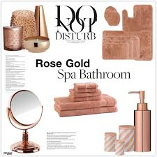 polyvore home decor fabulous home tip with rose gold bathroom decor polyvore