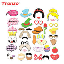 photo booth party props tronzo party decoration photo booth props 38pcs lot birthday party