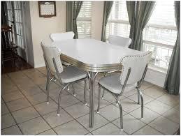 vinyl cotton ladder green upholstered 1950s formica kitchen table