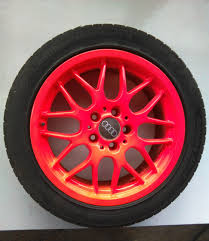 Red Paint by How To Paint Fluorescent Rims Youtube