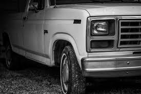Old Ford Truck Motors - free images black and white car vintage wheel van old rust