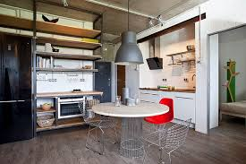 Industrial Interior Design by Small Home With Industrial Interior Design Creativeresidence