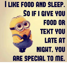 I Like Food Meme - i like food and sleep so if i give you food or tekt you late at