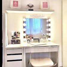 Small Makeup Desk White Makeup Vanity Table Vanity From Fresh On Best Makeup Simple