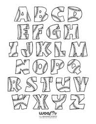 18 inch chevron letters baseball door by blessherheartdesigns