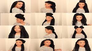 havana twist hairstyles 13 easy havana marley twists hairstyles thenotoriouskia youtube