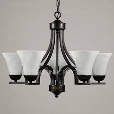 Black Chandelier Ls 5 Light Wrought Iron Chandeliers With E27 L Holder