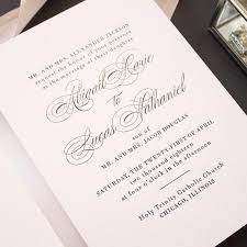 black tie wedding invitations timeless classic letterpress invitations for black tie wedding