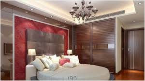 Wall Design With False Ceiling Design And White Bad Design In Bad Room - Fall ceiling designs for bedrooms