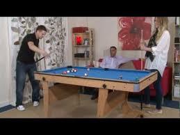 www madfun co uk 6ft folding leg pool table bce fp 6 youtube