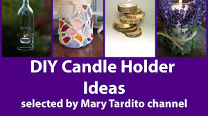 diy candle holder ideas easy crafts to make and sell youtube