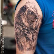 25 beautiful lion shoulder tattoo ideas on pinterest lion