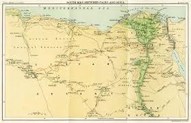 Oasis Map Maps Of Egypt U0026 Libya
