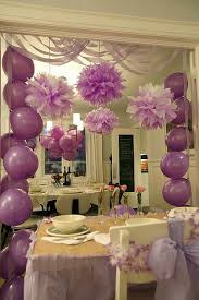 how to decorate birthday party at home party at home i like their idea with streamers pinteres
