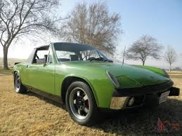 porsche 914 v8 914 2 0 liter freshly painted willow green weber carbs rivera rims