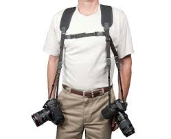 Comfortable Camera Strap Dual Harness Double Camera Harness Op Tech Usa