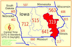 Map Of Cedar Falls Iowa Area Code 319 Wikipedia