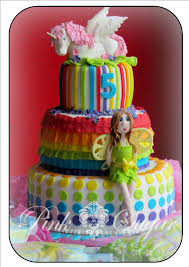 fairy cakes pink sugar rainbow u0026 fairy birthday cake