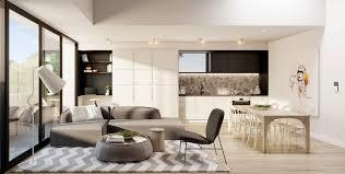 Open Concept Apartment Interiors For Inspiration - Interior design apartment living room