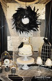 serendipity soiree dessert table vintage halloween inspiration