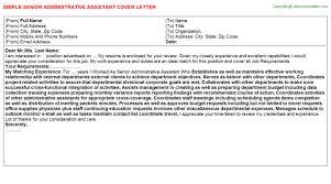 senior administrative assistant job title docs