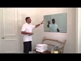 Bathroom Mirror Tv by Tv Behind A Mirror Youtube